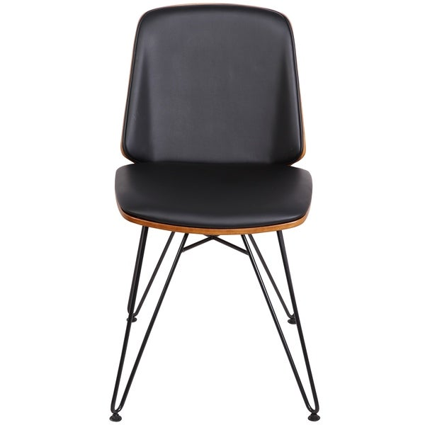 Avery Mid-Century Modern Upholstered Accent / Dining Chair (Set of 2)
