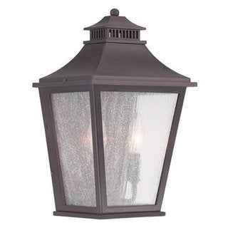 Acclaim Lighting Chapel Hill collection 2-light architectural bronze wall-mounted lantern.