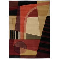 """Westfield Home Sculptures Aileen Green Hand Carved Accent Rug - 2'6"""" x 4'2"""""""