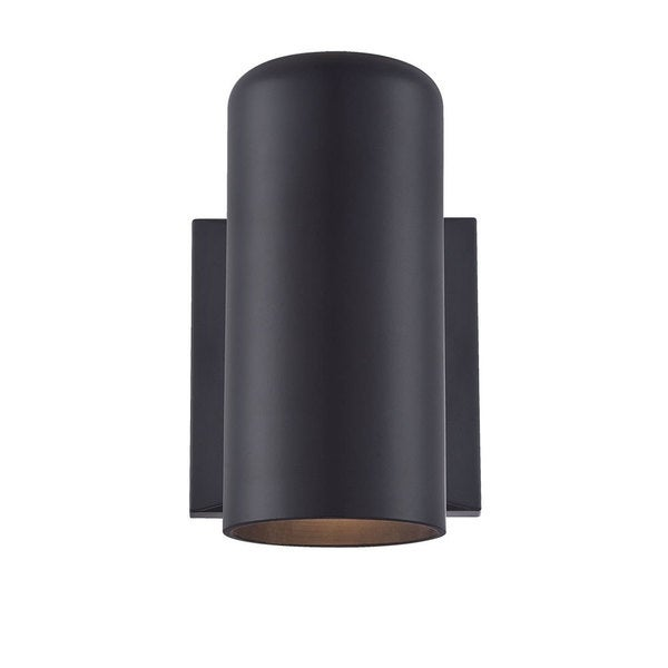 Acclaim Lighting Wall Sconces Collection Wall-Mount 1-Light Outdoor Matte Black Light Fixture