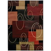 """Westfield Home Sculptures Chelsea Onyx Hand Carved Accent Rug - 2'6"""" x 4'2"""""""