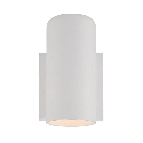 Acclaim Lighting Wall Sconces Collection Wall-Mount 1-Light Outdoor White Light Fixture