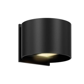 DALS Lighting Indoor/Outdoor Round Directional LED Wall Sconce