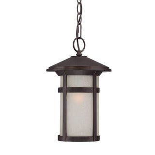 Acclaim Lighting Phoenix Collection Hanging Lantern 1-Light Outdoor Architectural Bronze Light Fixture