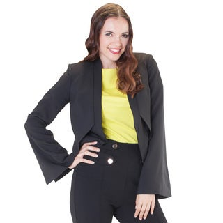 Fitted Blazer with Split Sleeves