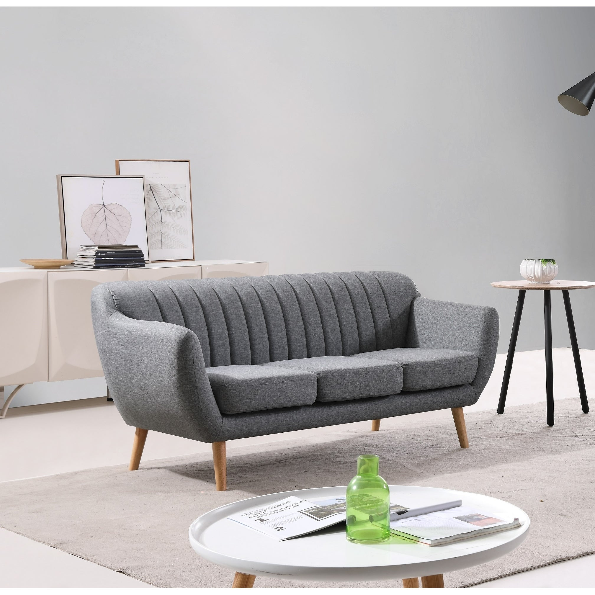 Shop Eli Modern Sofa - Free Shipping On Orders Over $45 - Overstock ...