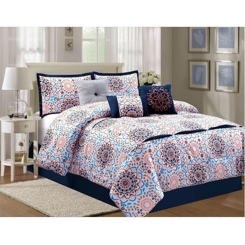 Sunshine Luxury 7 piece comforter set