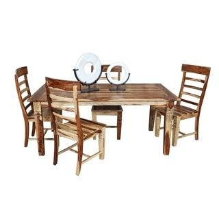 Wanderloot Taos Contemporary Dining Table, Natural