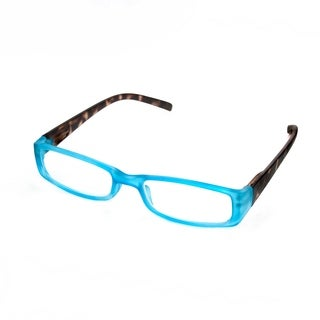 Hot Optix Ladies Two Toned Rectangular Readers