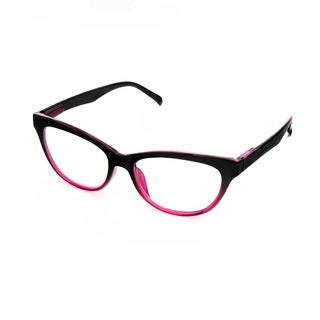 Hot Optix Ladies Two-Toned Cateye Reading Glasses
