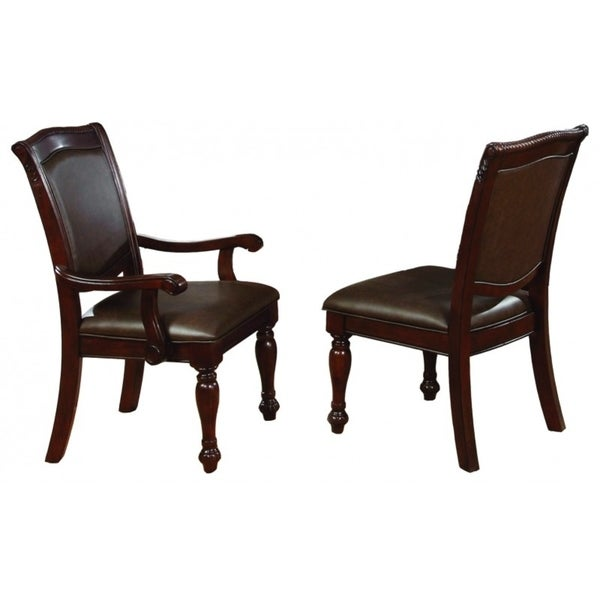 Best Quality Furniture Cherry Dining Chair (Set of 2)