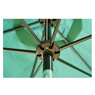 Outsunny 9' Aluminum Outdoor Patio Market Umbrella