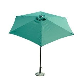 Outsunny 9' Aluminum Outdoor Patio Market Umbrella