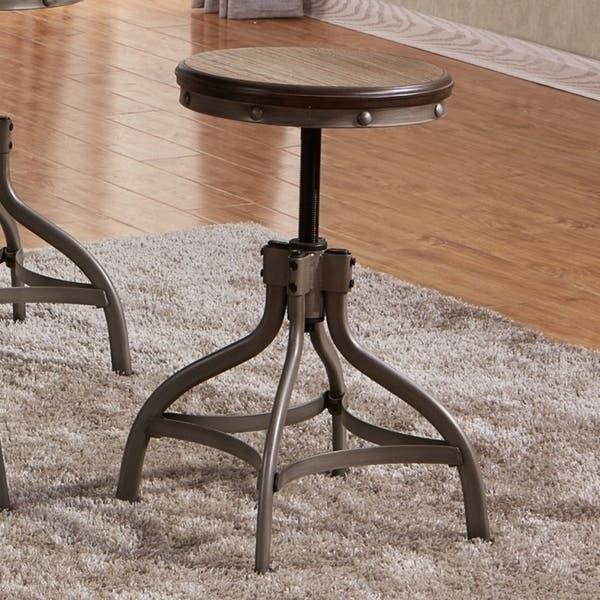 Awe Inspiring Best Quality Furniture Rustic Bronze Adjustable Height Stool Set Of 2 Cjindustries Chair Design For Home Cjindustriesco