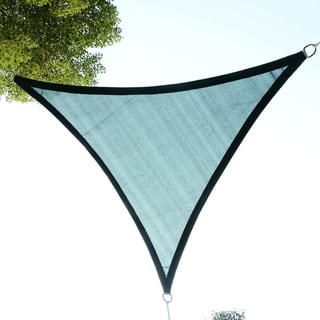 Outsunny 10' Triangle Outdoor Patio Sun Shade Sail Canopy|https://ak1.ostkcdn.com/images/products/17965455/P24141604.jpg?impolicy=medium