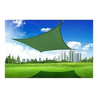 Outsunny 20' x 16' Rectangle Outdoor Patio Sun Sail Shade Canopy