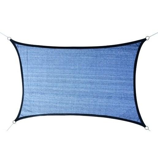 Outsunny 20' x 16' Rectangle Outdoor Patio Sun Shade Sail Canopy