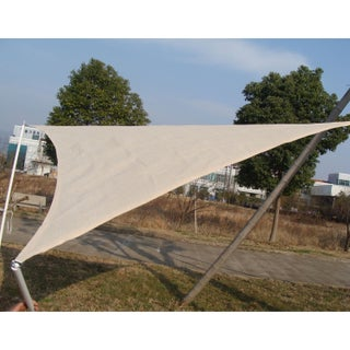 Outsunny 10' Triangle Outdoor Patio Sun Shade Sail Canopy