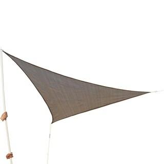 Outsunny 10' Triangle Outdoor Patio Sun Shade Sail Canopy
