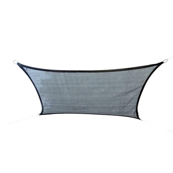 Shop Outsunny 13 X 20 Rectangular Sun Shade Sail Canopy Free