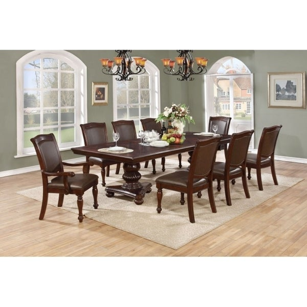 Best Quality Dining Room Furniture: Shop Best Quality Furniture 7-piece Cherry Dining Set
