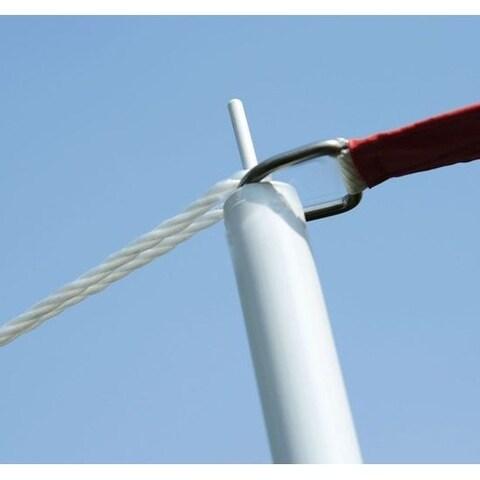 Outsunny Sun Sail Shade Canopy Pole Kit