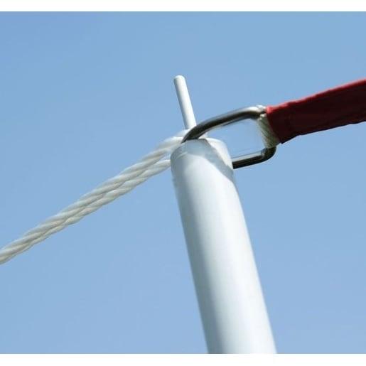 Shop Outsunny Sun Sail Shade Canopy Pole Kit On Sale Free