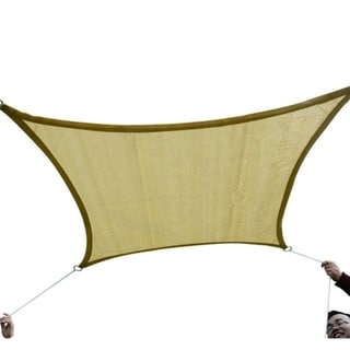 Outsunny 20' x 13' Outdoor Patio Rectangle Sun Shade Canopy