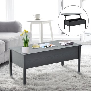 HomCom Lift Top Coffee Storage Table