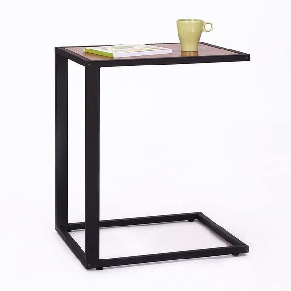 Enjoyable Shop Homcom 26 Rustic Industrial Laptop Tv Tray Accent End Machost Co Dining Chair Design Ideas Machostcouk