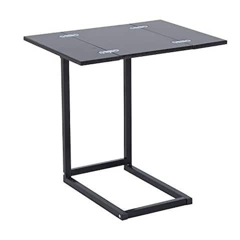 HomCom Expanding Tray Side Table