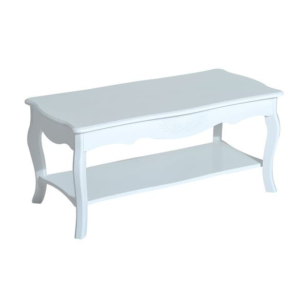 Homcom Cottage Home Wood Coffee Table Free Shipping