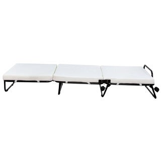 HomCom Folding Sofa Ottoman Lounge Bed Sleeper