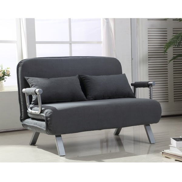 2-Seater Sofa Chair 5 Position Convertible Sleeper Bed. Opens flyout.