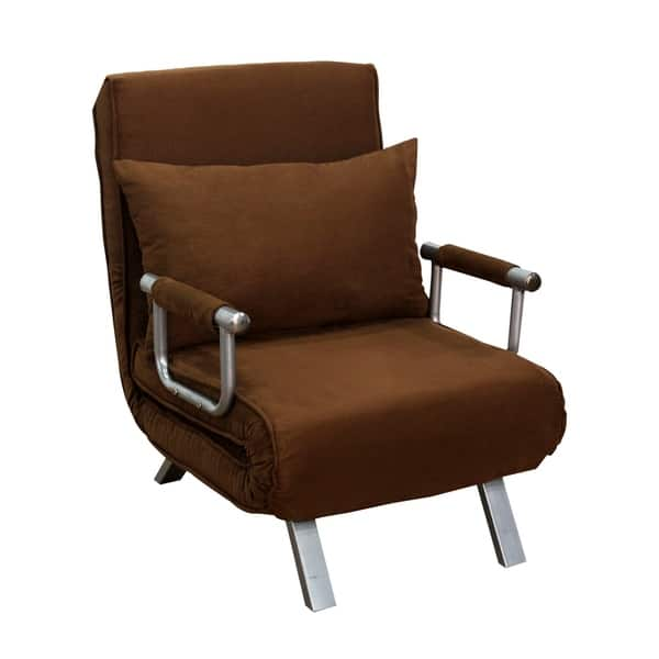 Remarkable Shop Homcom 26 Convertible Single Sleeper Chair Bed On Short Links Chair Design For Home Short Linksinfo