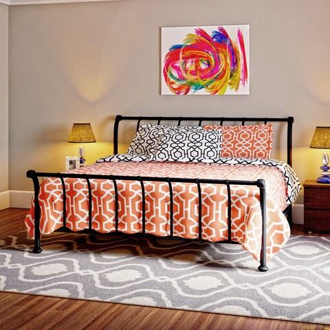 Porch & Den Bishop Park Prescott Textured Black Bed Set