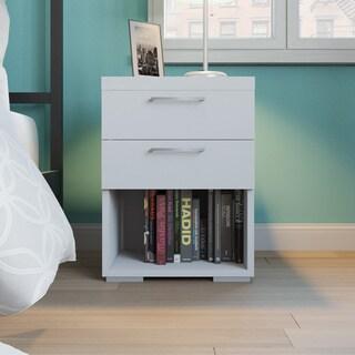 Porch & Den Kern Wellesley 2-drawer Wood Nightstand
