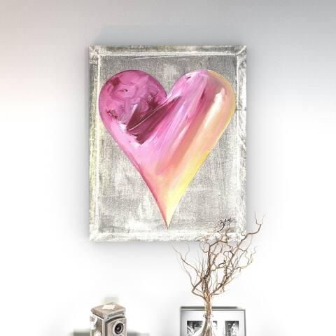 Porch & Den Zane Heartwork Al Canvas Art