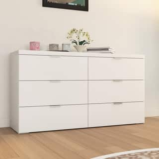 Porch Den Third Ward Summerfest High Gloss 6 Drawer Chest