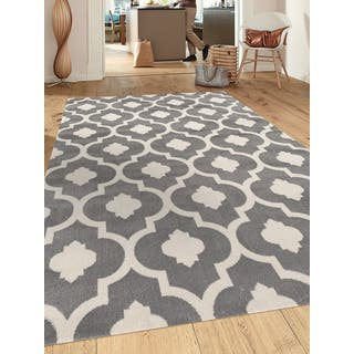 Porch & Den Marigny Royal Trellis Grey Indoor Area Rug (9' x 12')|https://ak1.ostkcdn.com/images/products/17969670/P20861700.jpg?impolicy=medium