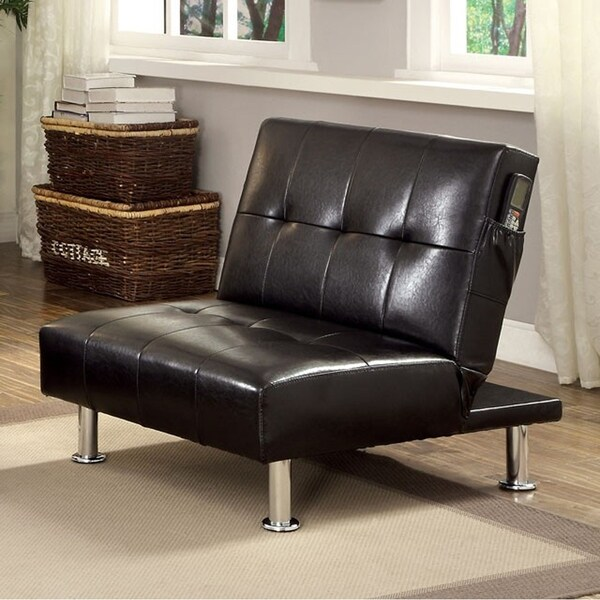 Bulle Contemporary Chair, Black