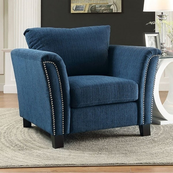 Campbell Contemporary Chair, Dark Teal