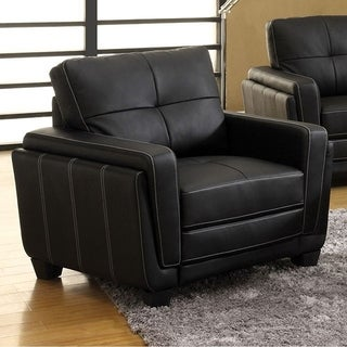 Blacksburg Contemporary Chair, Black
