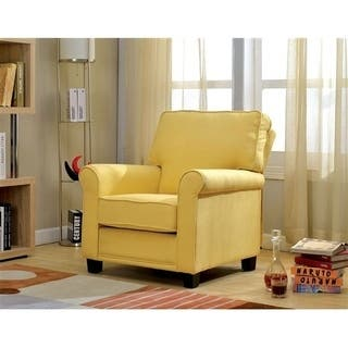 Buy Yellow Living Room Chairs Online at Overstock.com | Our Best ...
