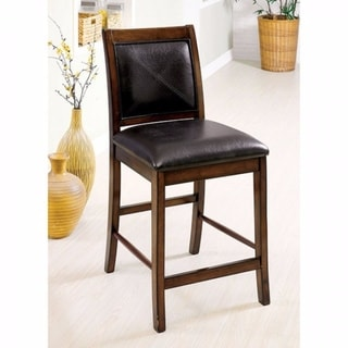 Living Stone II Transitional Counter Height Chair, Set Of 2