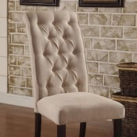 Marshall Transitional Side Chair, Set of two, Ivory