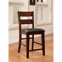 Dickinson II Cottage Counter Height Chair, Dark Cherry, Set of 2