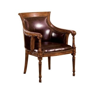 Kirklees Traditional Kirklees Accent Chair Bonded Leather