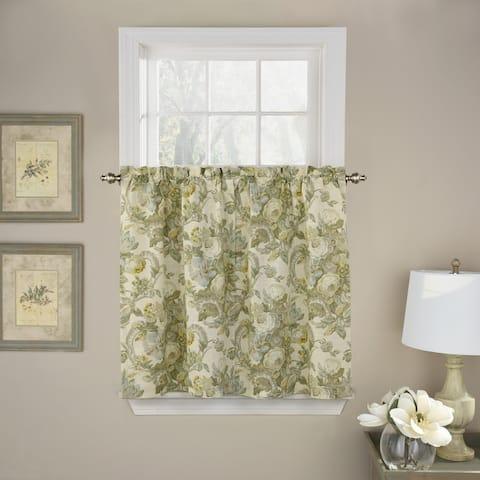 Waverly Spring Bling Window Curtain Tier Pair - 52X36