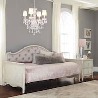 Hillsdale Angela Upholstered Daybed, Opal Grey
